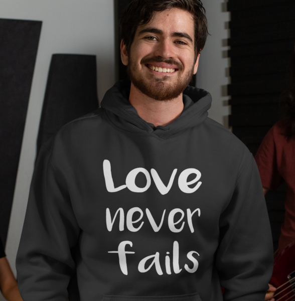 Hoodie Love Never Fails
