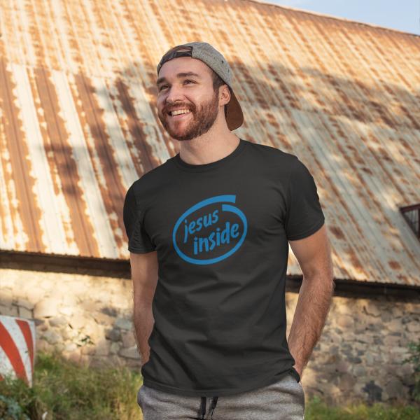 Jesus inside T-Shirt