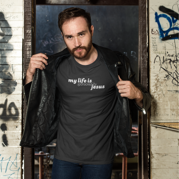 Sponsored by Jesus T-Shirt