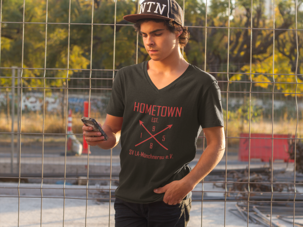 Men\\\'s Standard V-neck T-Shirt